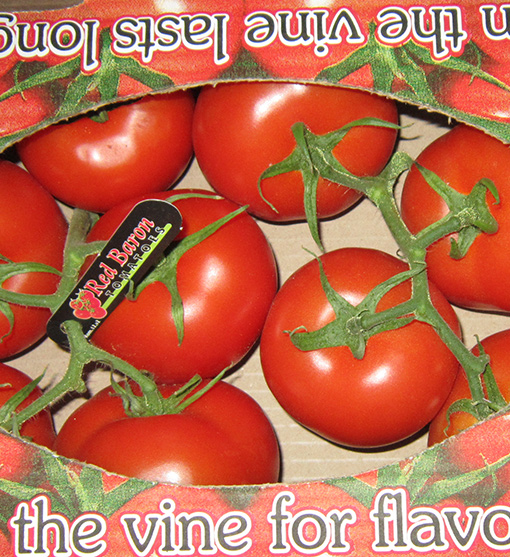Red Baron Tomatoes - Map of tomato distributors in us